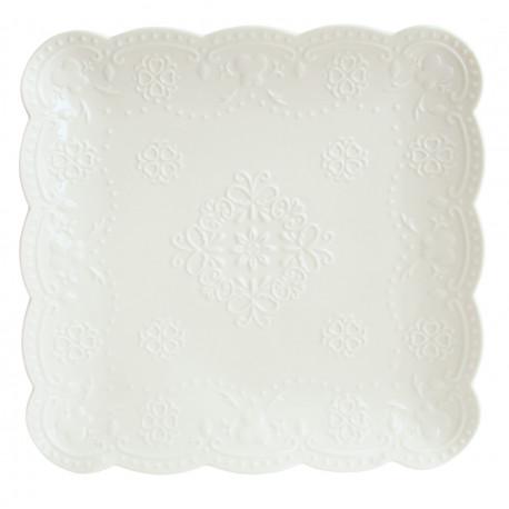 Тарелка десертная 19см Astera Paradise White