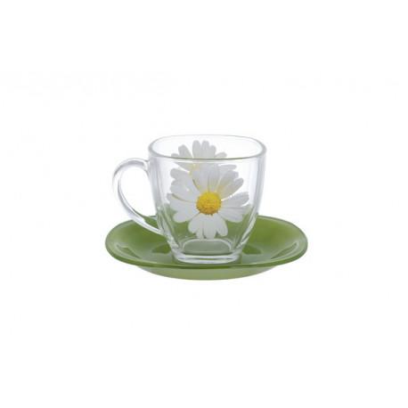 Сервиз чайный 12 предметов Luminarc Carine Paquerette Green N8508