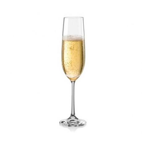 Набор бокалов для шампанского Bohemia Viola 190 мл - 2шт