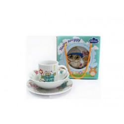 Детский набор 3 предметов Milika Sweet Couple M0690-TH5849