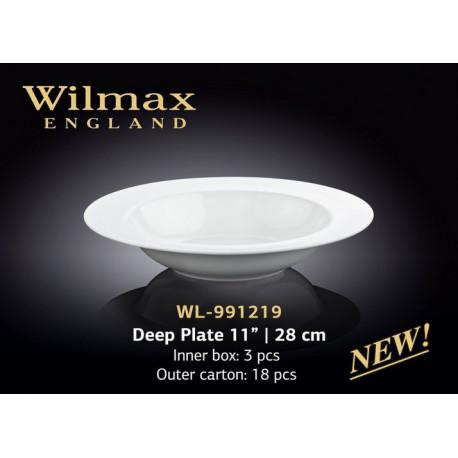 Тарелка глубокая  28см Wilmax WL-991219