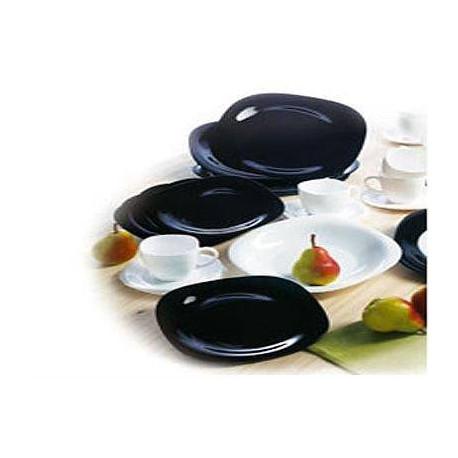 Сервиз столовый 30пр Luminarc Carine Black/White N1500