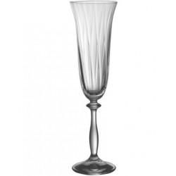 Набор бокалов для шампанского 190мл/6шт Bohemia Аngelа Optic