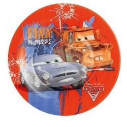 Тарелка десертная круглая 19см Luminarc Disney Cars2 H1495