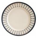 Тарелка обеденная 27см Luminarc Carine Light Turquoise P4127