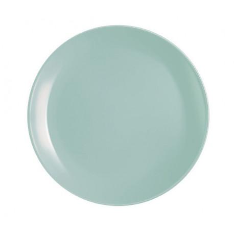 Тарелка обеденная 25 см Luminarc Diwali Light Turquoise P2611
