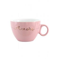 Чашка 410мл LIMITED EDITION Amore HTK-004