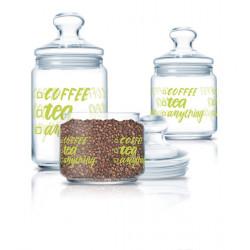 Набор банок 3 предмета Luminarc Club Coffee Tea P6667