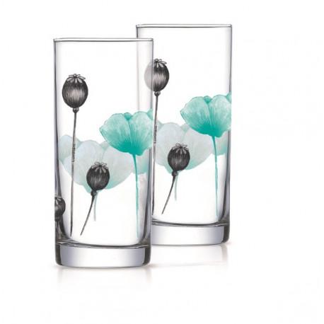 Набор стаканов 270мл/6шт Luminarc Angelique Turquoise Q6106