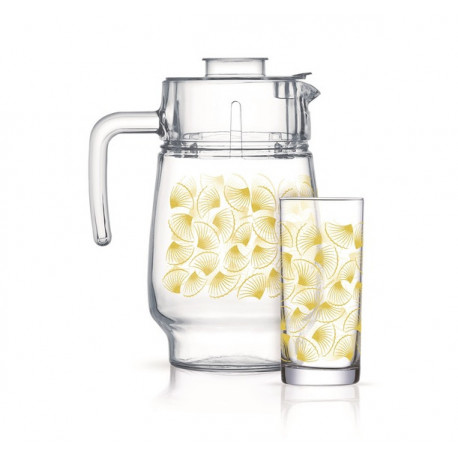Набор для воды 7 предметов Luminarc Golden Shell Q5451