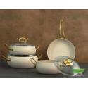 Набор сервировочный для кофе/чая BergHOFF Eclipse 6 пр 3705100