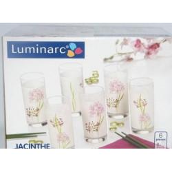 Набор стаканов высоких 270мл 6шт Luminarc Jacinthe G4605