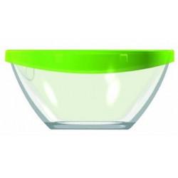 Салатник с крышкой для пищи круглый Luminarc Keep'n'Box  28см